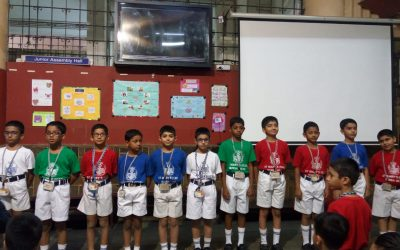Report on 'A sound mind in a sound body'   (Class 4-2)