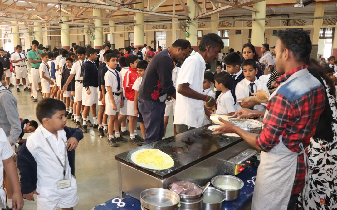 Canteen day (Classes 1 & 2)