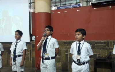 Report of Special Assembly (Class 4-3)