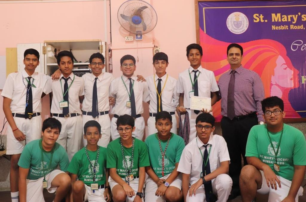 Winners of Inter House Basket Ball (Under -16)