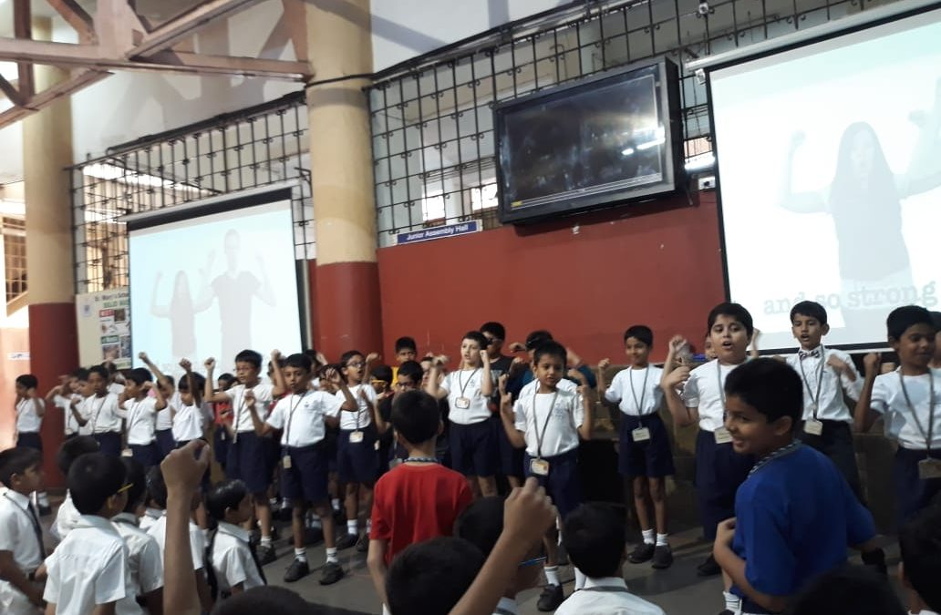 Special Assembly (Class 2-1)