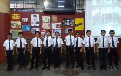 MORNING ASSEMBLY  (CLASS 4-3)