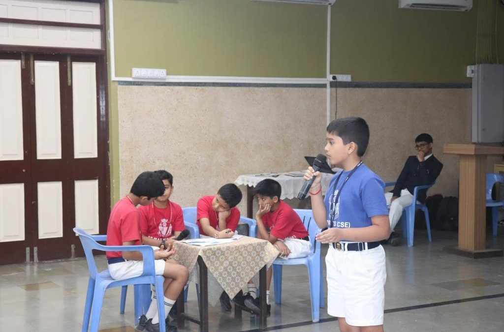 INTER HOUSE DEBATES 2019 – CLASSES 5 and 6
