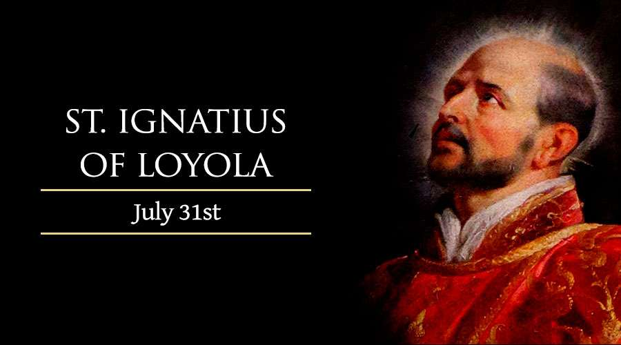 Report on the Feast Mass of St. Ignatius of Loyola