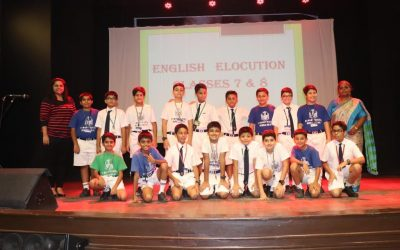 Inter House English Elocution Classes 7 & 8