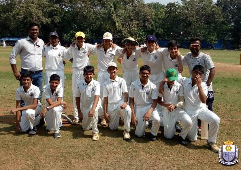St. Mary gives a tough fight on the back of Raadnya's heroic 54 vs the powerful Khalsa College in the ongoing U17 DSO Tournament'19