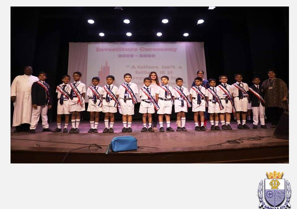 Report on the Investiture Ceremony of the Junior School Leaders for the 3rd Quarter 2019 – 2020