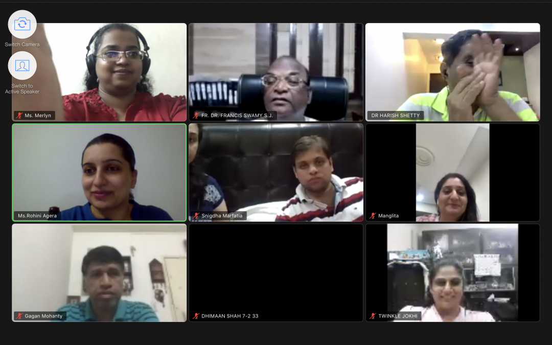 St. Mary's School ICSE -Building Resilience In Conversation with Dr. Harish Shetty